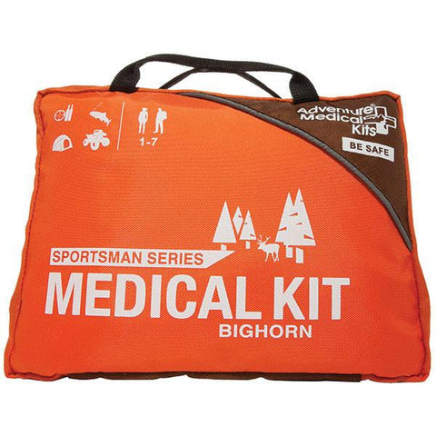 Bighorn Medical Kit, Sportsman Series, Orange-Black - American Tactical Depot
