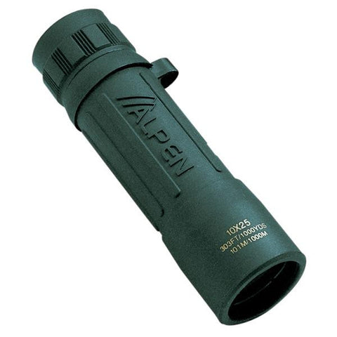 10x25 Monocular Green Rubber Covered - American Tactical Depot