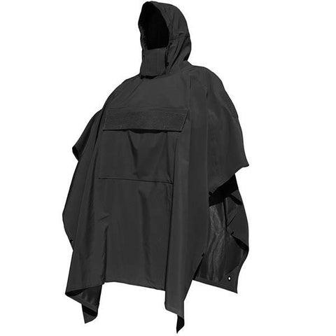 PonchoVilla w-SmartSkin Softshell, Black, One Size - American Tactical Depot
