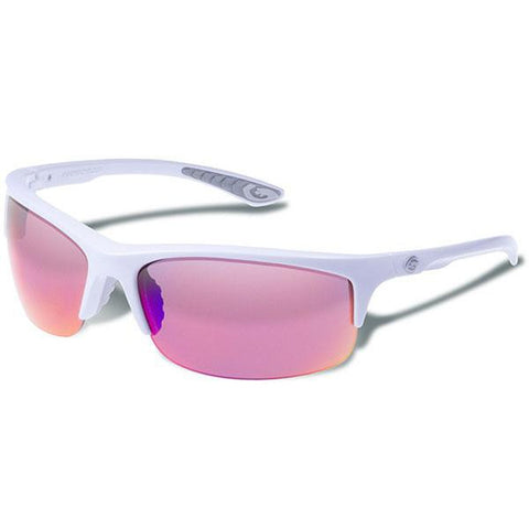 Flux, White Frame, Smoke w-Plasma Mirror - American Tactical Depot