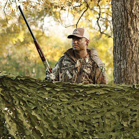 Hunting Series Camouflage Netting, Woodland, 10 x 20 - American Tactical Depot