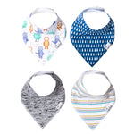 Copper Pearl Bandana Bib - 4 pack - Max