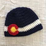 Colorado Beanie - Baby and Child - Navy Tweed