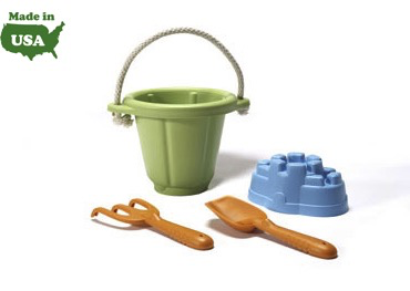 Green Toys - Sand Play Set Green