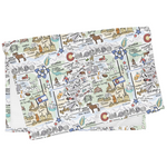 Fish Kiss - Colorado Map Burp Cloth