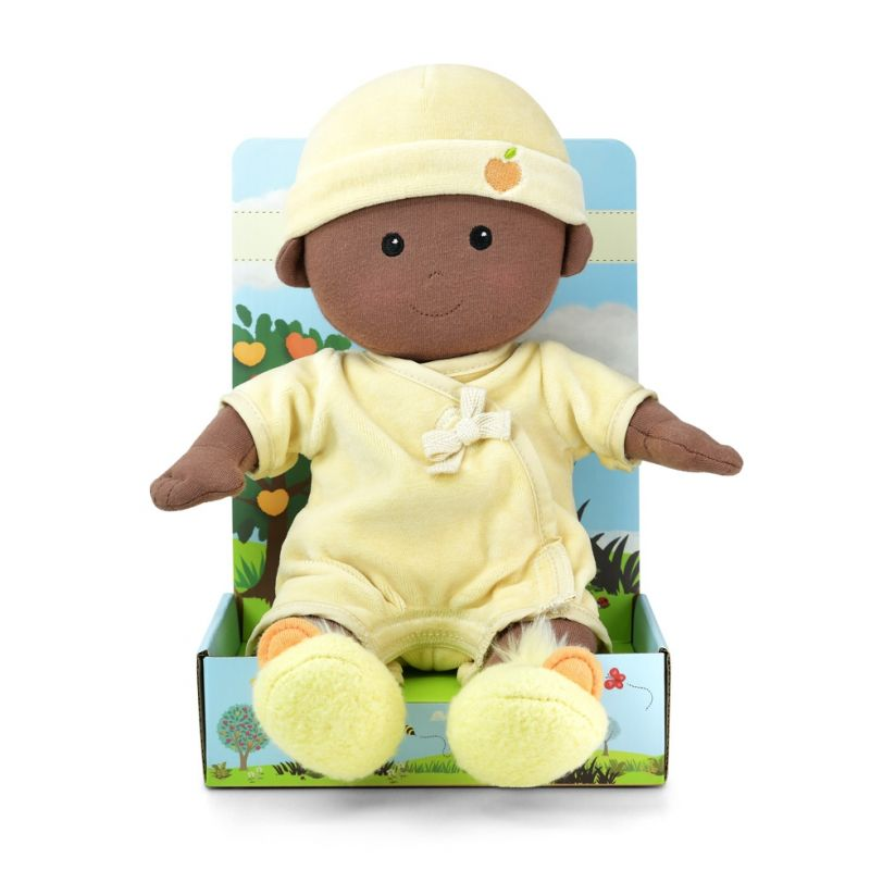 Apple Park - Baby Boy Doll (Organic) - in Cream