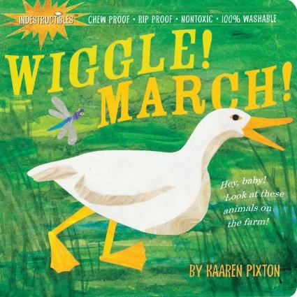 Indestructibles Book Wiggle! March!