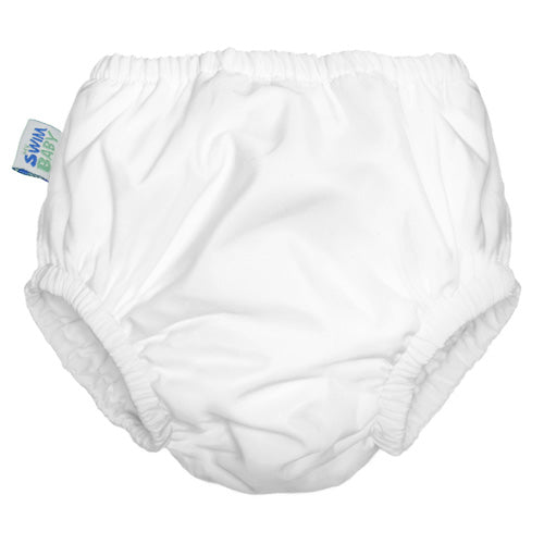 My Swim Baby - White - Swim Diaper
