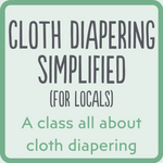 Cloth Diapering Simplified - Custom Time