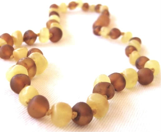 Child Baltic Amber Necklace - Mixture