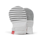 GoumiKids -  Gray Stripe Mitts -