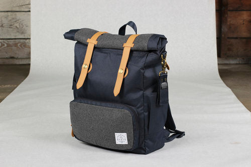 Product of the North - Westin Rolldown Diaper Bag - Navy