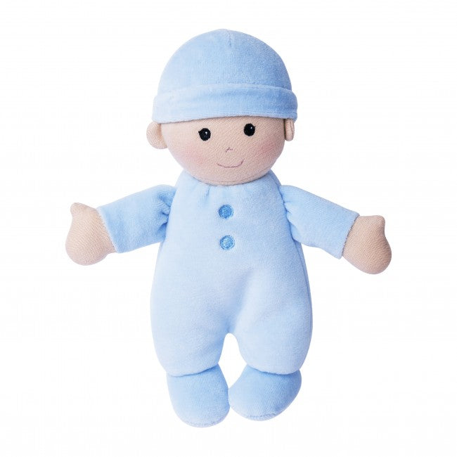Apple Park - First Baby Doll (Organic) - in Blue
