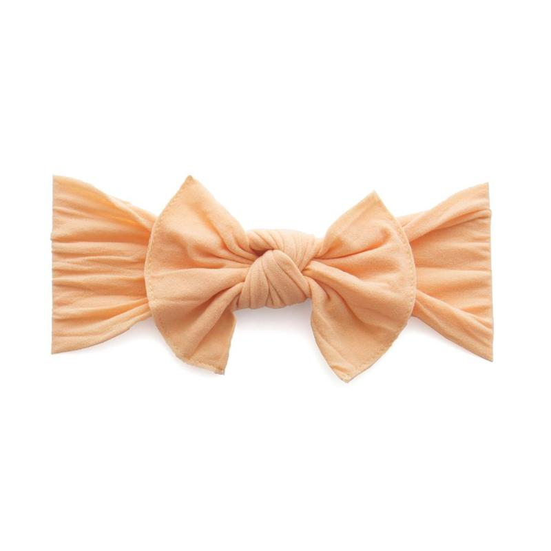 Baby Bling Bows - Classic Knot - Apricot