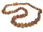 Child Baltic Amber Necklace - Cider