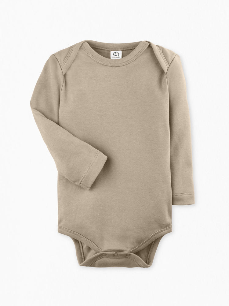 Colored Organics - Clay Long Sleeve Onesie