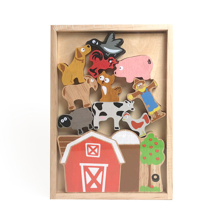 Begin Again- Balance Barn Puzzle Playset