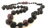 Child Baltic Amber Necklace - Molasses