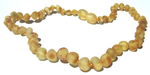 Child Baltic Amber Necklace - Lemonade Cinnamon Sprinkle