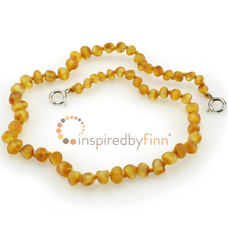Baltic Amber Adjustable Anklet