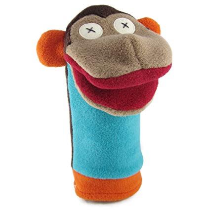 Cate and Levi - Fleece Puppet - Monkey