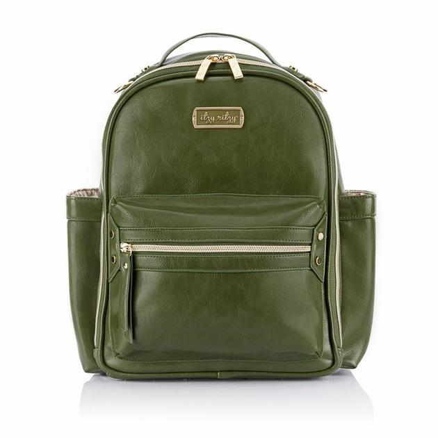 Itzy Ritzy - Itzi Mini Diaper Bag Backpack - Olive