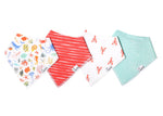 Copper Pearl Bandana Bib - 4 pack - Nautical