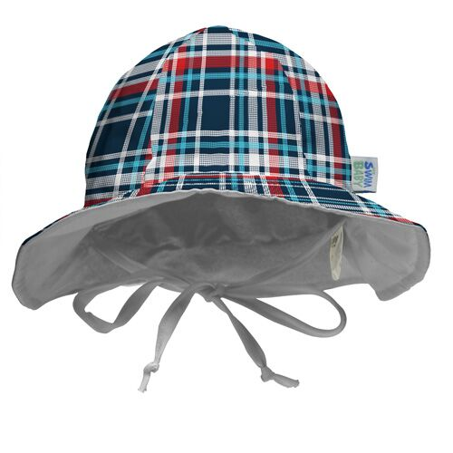 My Swim Baby - Coastal Plaid - Swim Hat