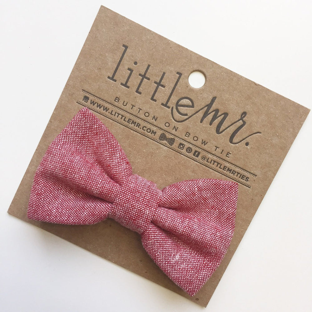 Little Mr. Bow Tie - Red