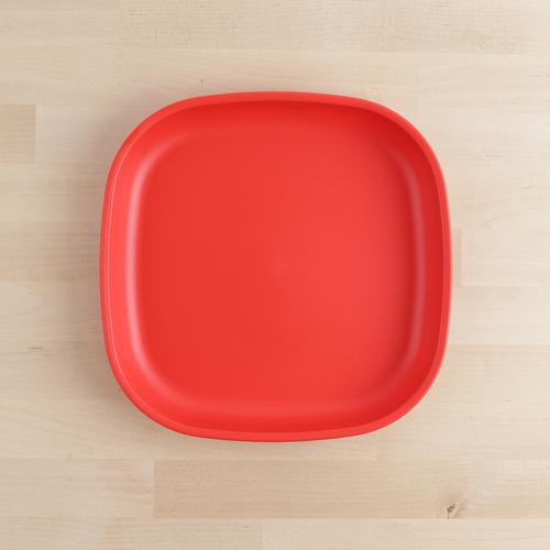 "Re-Play - 9"" Plate - Red"