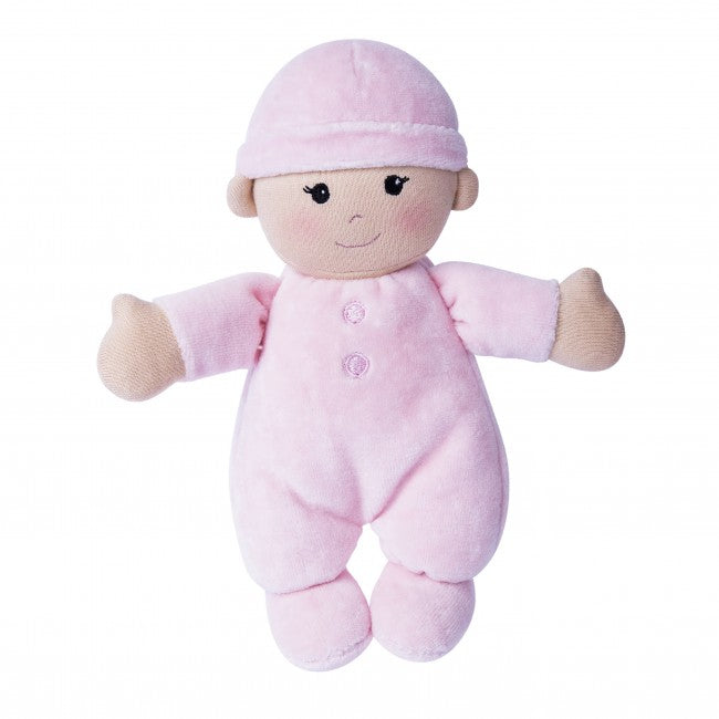 Apple Park - First Baby Doll (Organic) - in Pink