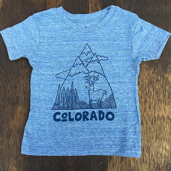 Zio Tee - Colorado (Blue)
