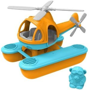 Green Toys - Sea Copter (Orange Top)