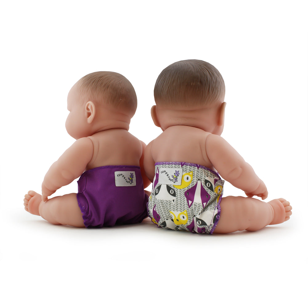 Kanga Care - Doll Diapers Bonnie & Orchid