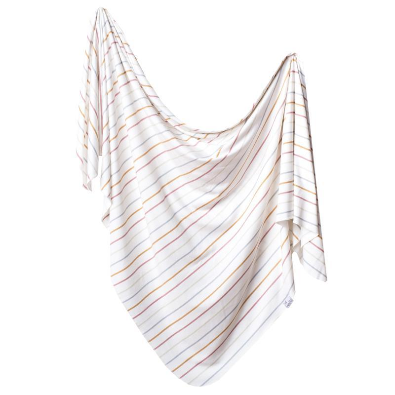Copper Pearl Swaddle Blanket - Piper