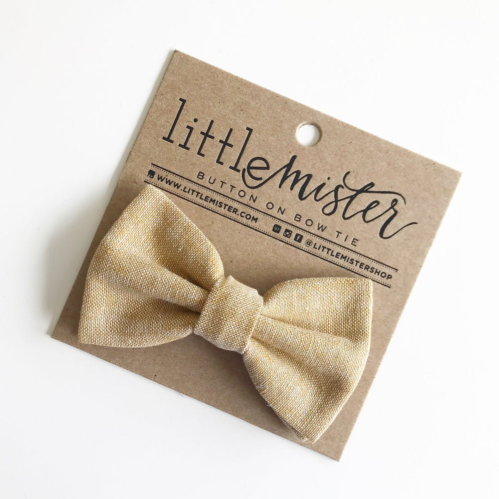 Little Mr. Bow Tie - Mustard