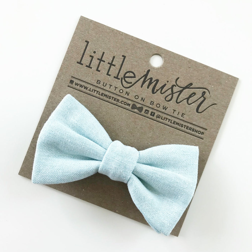 Little Mr. Bow Tie - Sky Blue