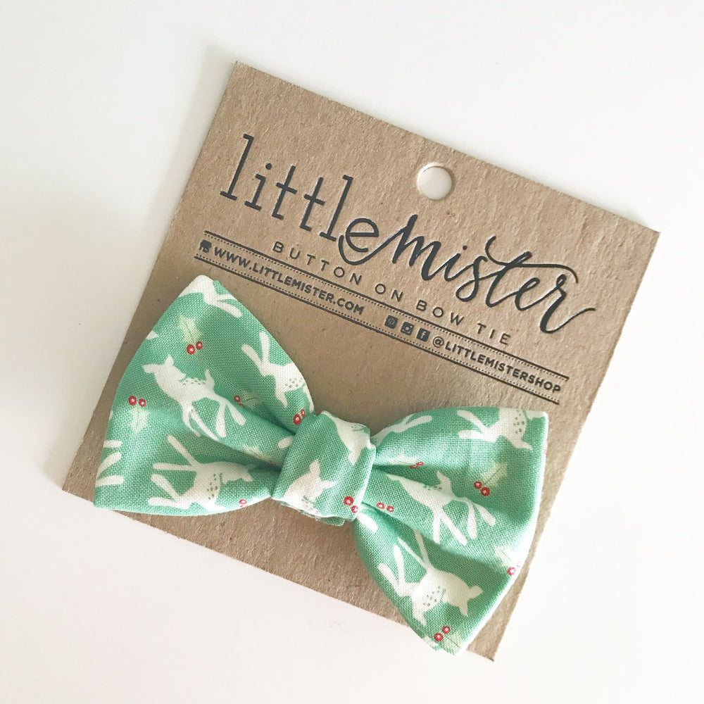 Little Mr. Bow Tie - Reindeer Baby