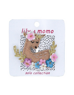 Lily and Momo - Solo Hair Clips - Deer to Me