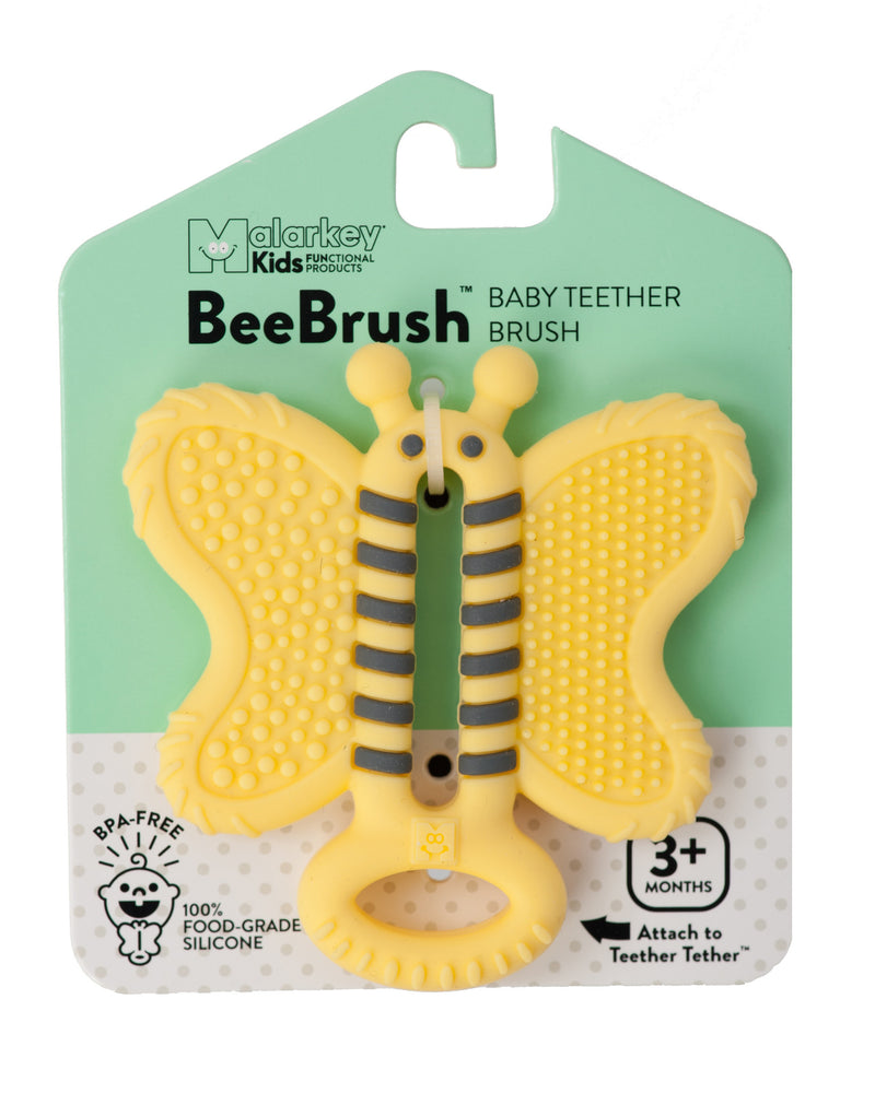 Malarkey Kids - Toothbrush Teether - Bee Brush