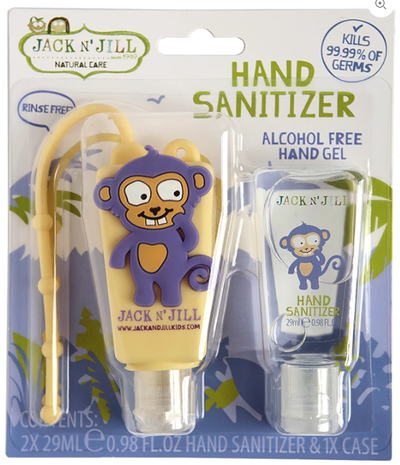 Jack N' Jill - Hand Sanitizer - Monkey