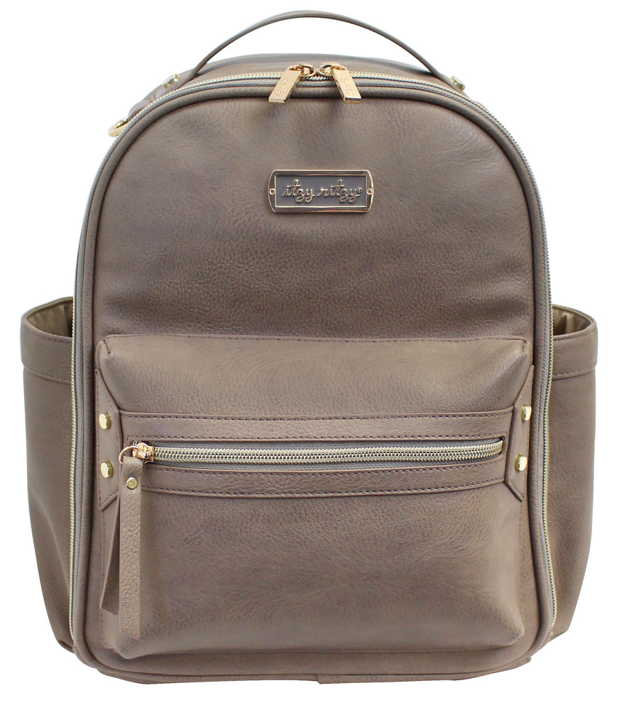 Itzy Ritzy - Itzi Mini Diaper Bag Backpack - Taupe