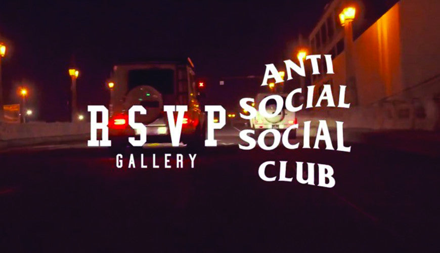 Neek Lurk Drops Anti Social Social Club Teaser for RSVP Gallery Collaboration