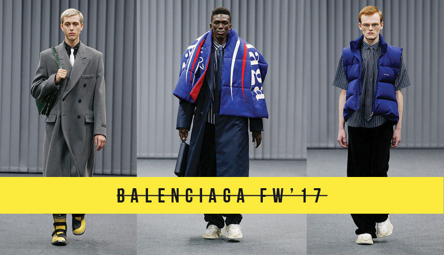 Bernie Sanders Inspires Paris Fashion Week at Balenciaga FW/17