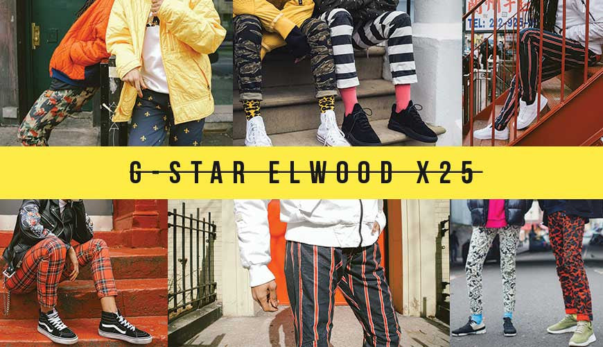 Pharrell Goes All Out in the G-Star Elwood X25 Collection
