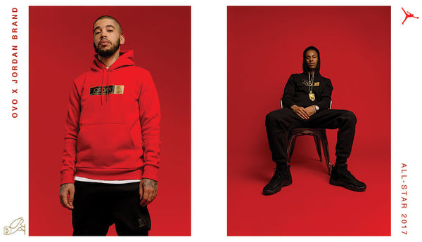 OVO x Jordan Brand Reveals All-Star 2017 Collection