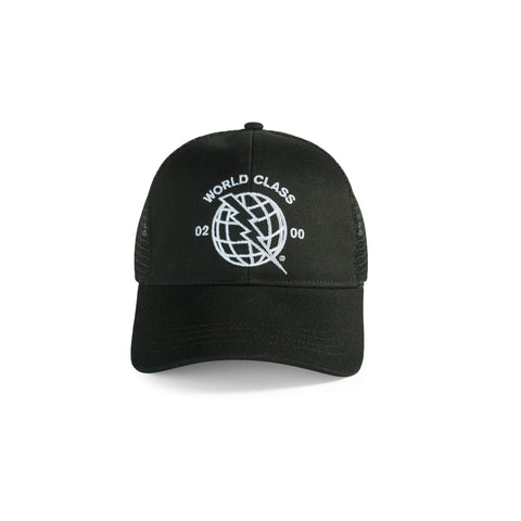 Global Trucker Hat - Black