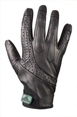 TurtleSkin Delta Gloves - Cut Resistant Leather Gloves - Needle Resistant Leather Police Gloves