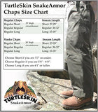 TurtleSkin® SnakeArmor Total Protection Snake Chaps