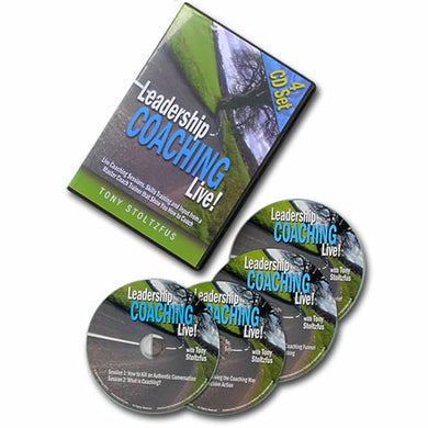 Leadership Coaching Live! (CD's)